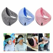 2 in 1 Soft Travel Pillow and Eye Mask Compact Versatile Travel Voyage Pillow