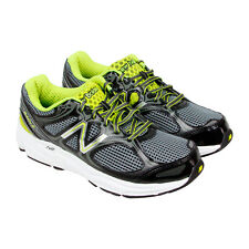 New Balance 840 V2 Mens Black Gray Mesh & synthetic Athletic Running Shoes