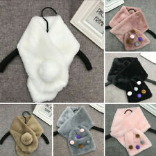 New Winter Women's Casual Warm Comfy Faux Fur Scarves Neckerchief Scarf