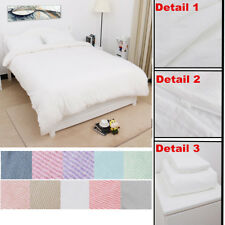 US Duvet Cover with Pillow Case Quilt Cover Bedding Set Twin Double Queen King
