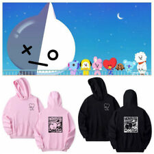 KPOP BTS BT21 Pullover Sweatshirt Bangtan Boys Love Yourself Hoodie TATA Sweater