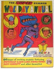 BATMAN ANNUAL~DC COMICS~1961~SUMMER HOLIDAY~SUPERMAN~VIKING PRINCE~LOIS LANE~UK