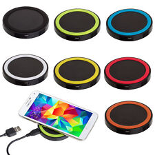 Portable Qi Wireless Power Fast Charger Charging Pad For iPhone 8 / 8 Plus / X