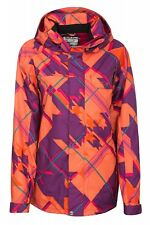 New Oakley BREDFORD Jacket Ladies Snowboard Jacket Ski Jacket Orange 411262mp
