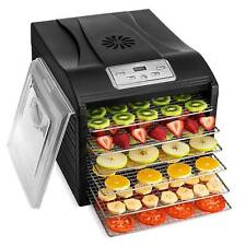 Food and Jerky Commercial pro Magic Mill Dehydrator 10 Tray Stainless Steel