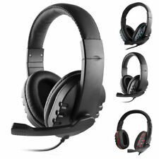 3.5mm Stereo Wired Gaming Headset Headphones with Mic for Xbox One/Desktop