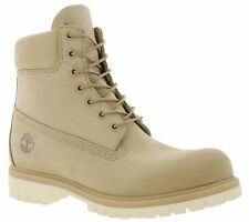 TIMBERLAND 6-INCH PREMIUM BOOTS MEN'S Real Leather Winter Boots Snow Brown