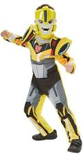 Boys Deluxe Transformers Bumble Bee Robot Book Day Fancy Dress Costume Outfit