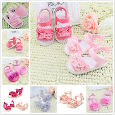 Summer Kids Baby Girls Princess Sandals Shoes Toddler Soft Sole Sandals Shoes US