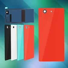 Back Door Battery Rear Housing Cover Tempered Glass Case For Sony Xperia KZ 30