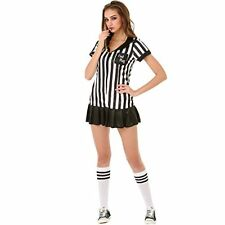 Risque Referee Women's Halloween Costume Sexy Sports Ref Ump Skirt Outfit