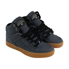 Osiris Nyc 83 Vlc Dcn Mens Gray Canvas High Top Lace Up Sneakers Shoes