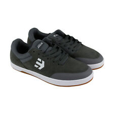 Etnies Marana Mens Gray Suede Lace Up Lace Up Sneakers Shoes