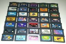 Authentic Gameboy Advance Games Lot ~ Play on GBA SP DS DSL Pokemon Kirby Mario