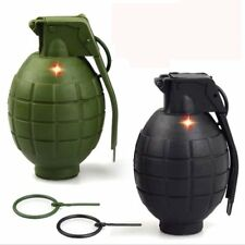 3PCS/set Kids Army Toy Hand Grenades Dummy Grenades with sound. Green or Black