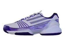 Adidas Adizero Feather Womens Tennis Trainers / Indoor Court Shoes - White