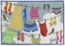 """AREA RUGS - LAUNDRY TIME RUG - LAUNDRY ROOM - MUD ROOM - 20"""" x 30"""" OR 24"""" x 36"""""""