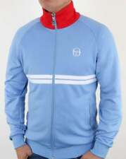 Sergio Tacchini Dallas Track Top in Sky Blue - retro tracksuit jacket 80s Orion