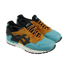 Asics Gel Lyte V G Tx Mens Green Brown Leather & Suede Lace Up Sneakers Shoes