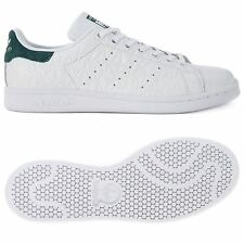 adidas ORIGINALS STAN SMITH TRAINERS WHITE LEATHER JUNIOR UNISEX BOYS SHOES
