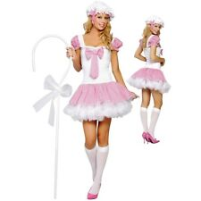 Womens Little Bo Peep Costume Halloween Fancy Dress Party Outfit