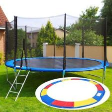 """10""""12""""14""""15FT Trampoline Replacement Safety Pad Spring Round Frame Pad Cover"""