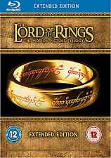 Lord Of The Rings Trilogy 15 Disc Extended Limited Edition Blu-ray Boxset Sealed