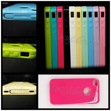 multi color DUST PROOF Soft TPU Silicone phone case Skin cover For iPhone 4G/4GS