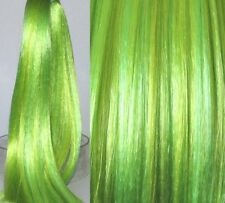 CHARTREUSE Saran Doll Hair for Doll Rerooting/Wig Making Monster High OOAK
