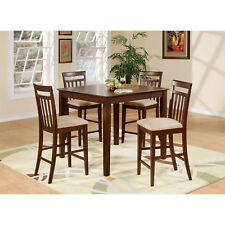 butcher block style counter height table ebay. Black Bedroom Furniture Sets. Home Design Ideas