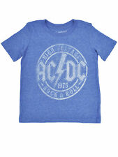 Youth Boys AC/DC High Voltage T-Shirt - Short Sleeve Blue