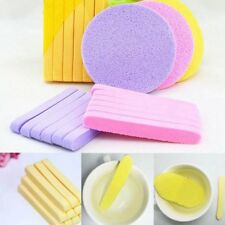 Natural Sponge Stick Face Cleansing Pad Compressed Facial Cleaning Wash Puff 12x