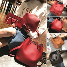 4Pcs/Set Ladies PU Leather Handbag Shoulder Bags Tote Purse Satchel Messenger US