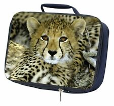 Baby Cheetah Navy Insulated School Lunch Box Bag, AT-18LBN