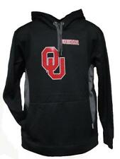 NEW- Oklahoma Sooners Adult Mens sizes S-M-L-XL Majestic Black Hoodie