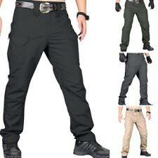 Men Straight Pants Water Resistant Hiking Outdoor Quick-Dry Trekking Trousers 50
