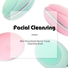 Silicone Facial Cleaning Brush Skin Care Wash Cleansing Device Beauty Facial Set