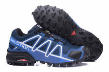 Men's Salomon Speedcross 4 Athletic Running Sports Outdoor Hiking Shoes Blue#