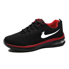 Mens Air Flyknit Casual Boots Sports Sneakers Running Leisure Fashion Breathable