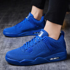Men's Air 4 Casual Shoes Leisure Sports Sneakers Basketball Shoes Jogging Mesh