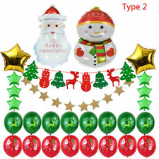Christmas Fabric Felt Hanging Buntings Garland Banner String Party Flag Decor OK