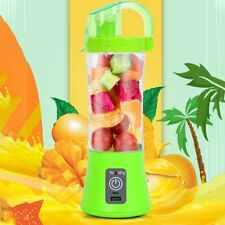 380ml One Portable Personal Blender Juicer Mix Blend Rechargeable Cordless W/Lid