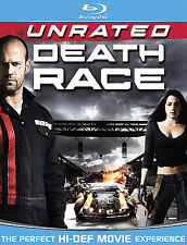 ONLY $2 BLU-RAYS : Death Race (Unrated) | Blu-Ray | Movie + Case FAST SHIPPING