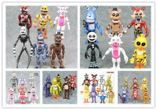 FNAF Five Nights At Freddy's Bunnie Game Kids Toys Action Figures Gift Set