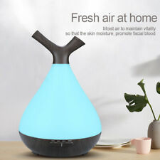 Aroma Essential Oil Diffuser Wood Grain Style Ultrasonic Aromatherapy Humidifier
