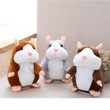 Cheeky Hamster Talking Nodding Sound Record Electric Mimicry Toy kids Xmas Gift