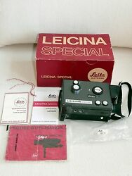 leica leitz leicina special super 8 movie