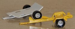 vintage lot 2 pressed steel car