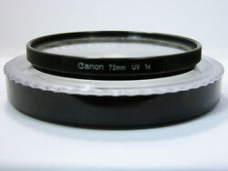 canon scoopic uv filter in case nice