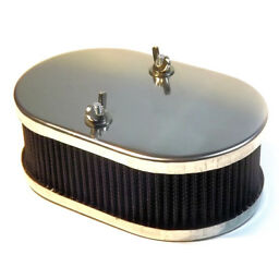 "Carburetor AIR FILTER 65mm 2""1/2 cleaner for Weber DCOE, Solex, Dellorto DHLA"